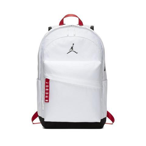 Min Ser cubo  Jordan Air Patrol Mochila - Blanco de Nike en 21 Buttons