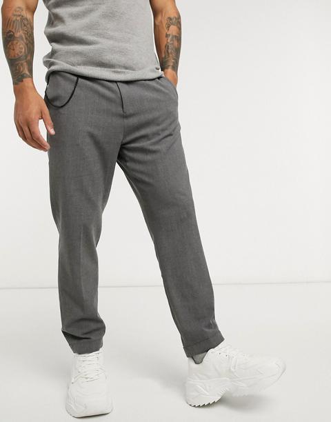 Lockstock Chimney Trouser In Grey