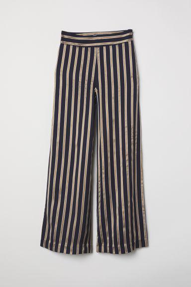 Pantalón De Rayas - Azul de H&M en 21 Buttons