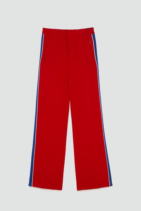Pantaloni Fascia Laterale