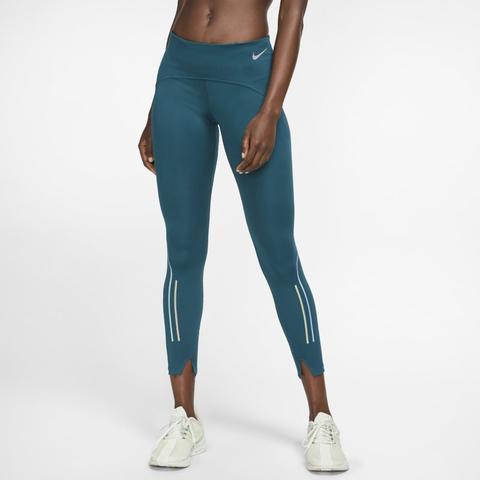 Nike Speed Mallas De Running De 7/8 - Mujer - Verde de Nike en 21 Buttons