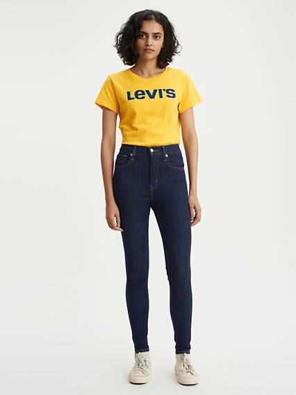 Mile High Super Skinny Jeans Lavado Oscuro / Upgrade de Levi's en 21 Buttons