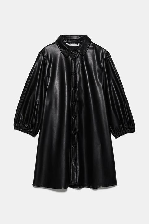 Robe En Cuir Synthétique