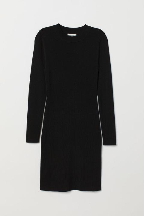 Vestido Entallado - Negro