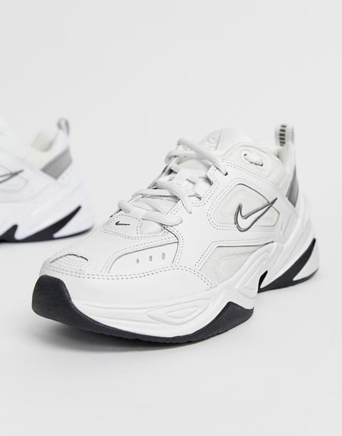Explícito Pez anémona Agencia de viajes  Nike White M2k Tekno Trainers from ASOS on 21 Buttons