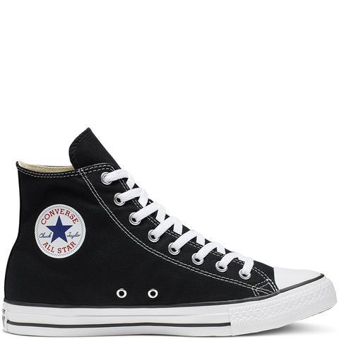 Converse Chuck Taylor All Star Classic High Top Black de Converse en 21 Buttons