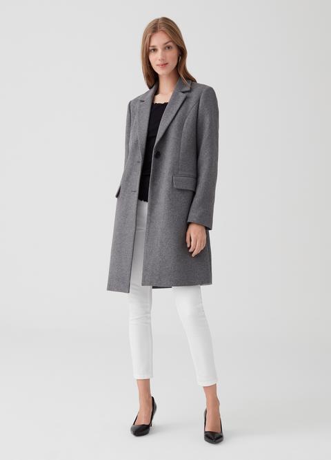 Cappotto lungo misto lana OVS Premium | OVS