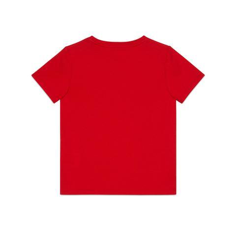 Camiseta Infantil Con Estampado Gucci