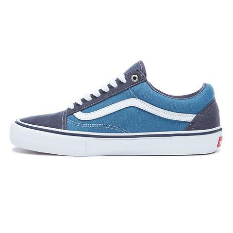 Vans Zapatillas Old Skool Pro (navy/stv Navy/white) Mujer Azul