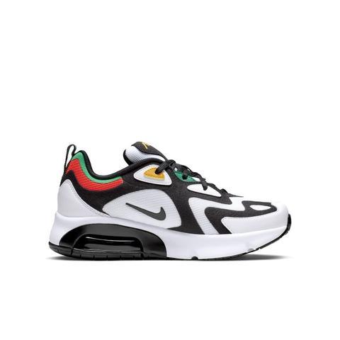 Scarpa Nike Air Max 200 Game Change - Ragazzi - Bianco