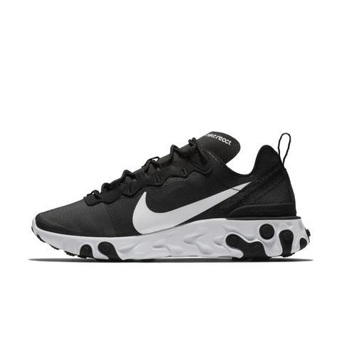 chaussure nike react noir