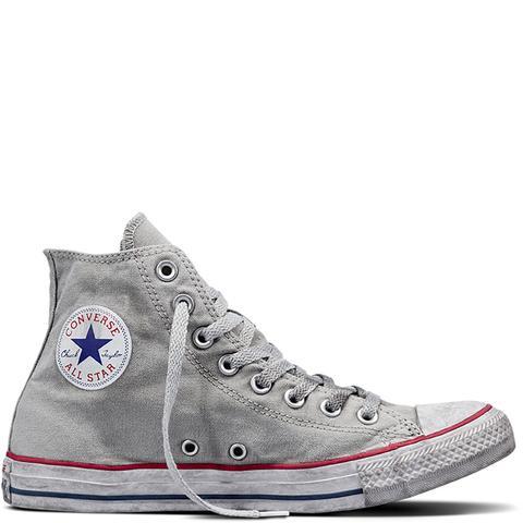 Converse Chuck Taylor All Star Canvas Smoke High Top Grey de Converse en 21 Buttons