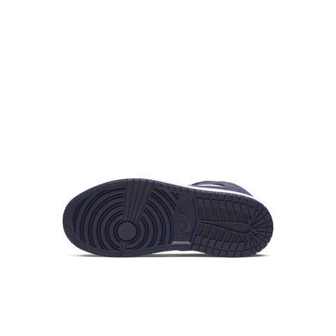 Chaussure Air Jordan 1 Mid Pour Jeune Enfant - Bleu from Nike on ...