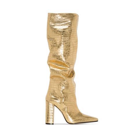 Okana Patent Leather Knee High Boots