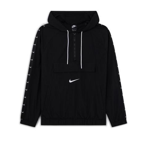 nike hoodie demi zip