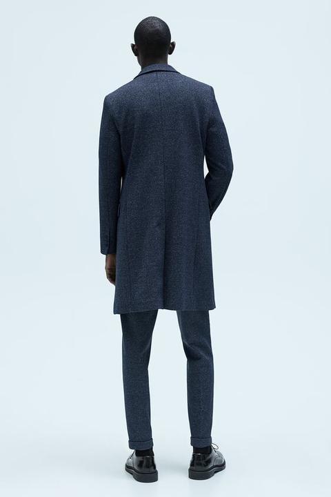 Abrigo Estructura Comfort Knit