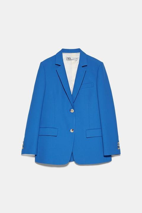 Blazer Botones de Zara en 21 Buttons