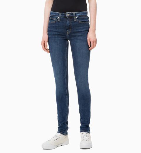 Ckj 011 Mid Rise Skinny Jeans de Calvin Klein en 21 Buttons