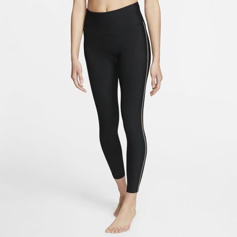 leggings fitness donna vita alta nike
