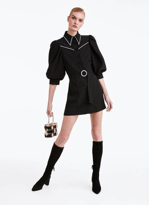 Vestido Mini Strass de Uterqüe en 21 Buttons