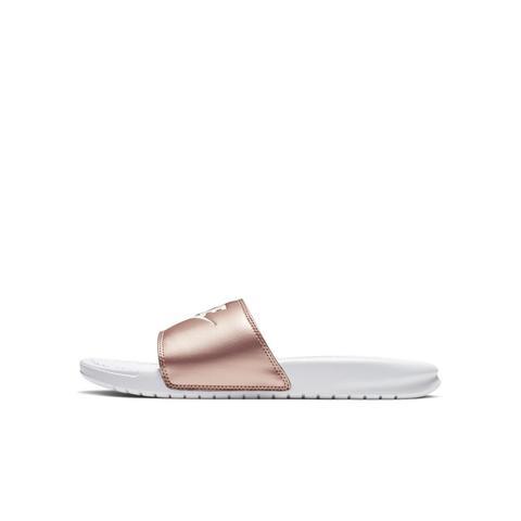 grand choix de 3bdf7 ea474 Claquette Nike Benassi Pour Femme - Blanc from Nike on 21 Buttons