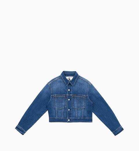 Chaqueta Denim Cropped Omega de Calvin Klein en 21 Buttons