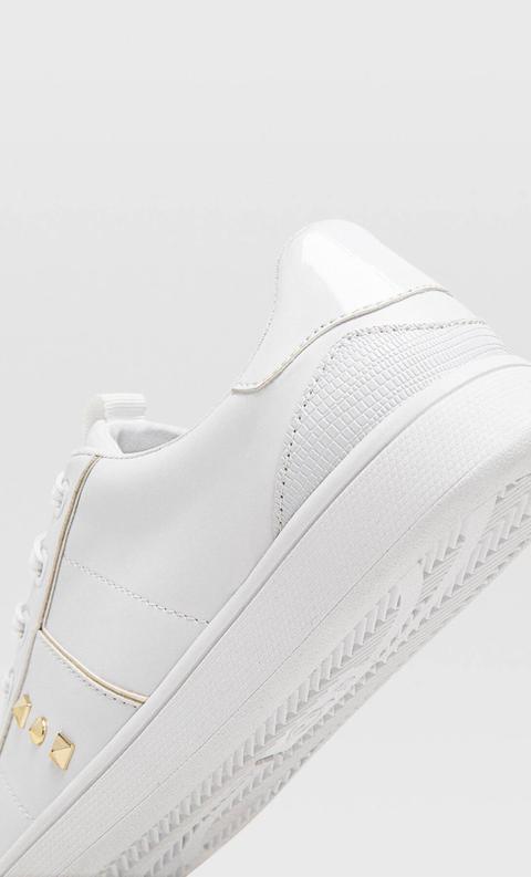 Zapatillas Blancas Detalle