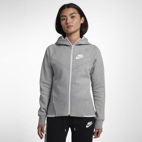 Nike Sportswear Tech Fleece Windrunner Women S Full Zip Hoodie Grey From Nike On 21 Buttons