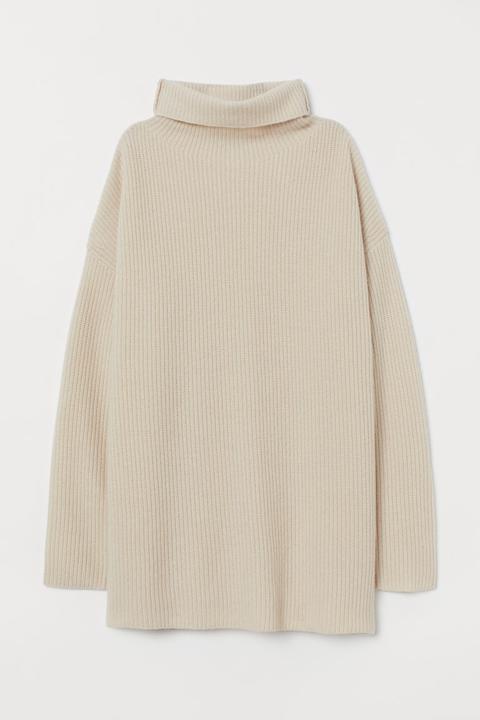 Jersey De Cachemira - Blanco de H&M en 21 Buttons