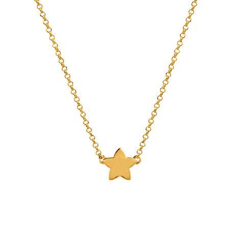 Colgante Estrella Plata Recubierta Oro de Aristocrazy en 21 Buttons