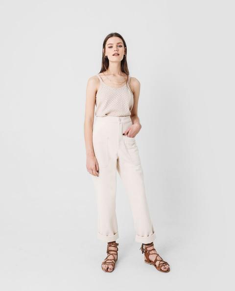 Pantalón Organico Plastron