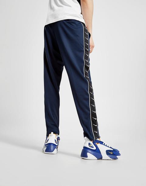 Nike Tape Track Pants - Blue - Mens