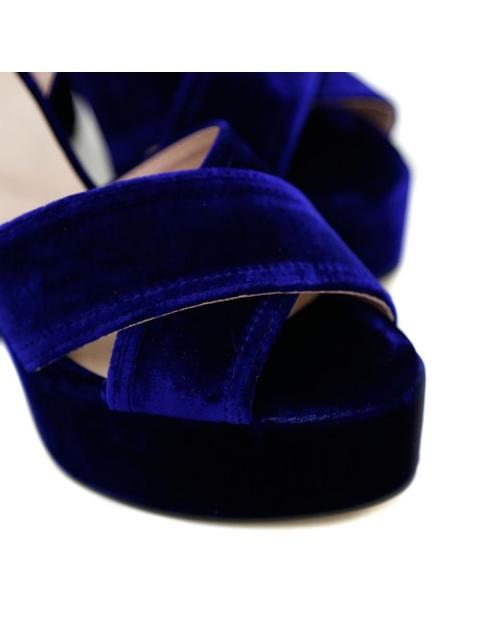 Velvet Blue Krack Core By Sarabace2 Azul