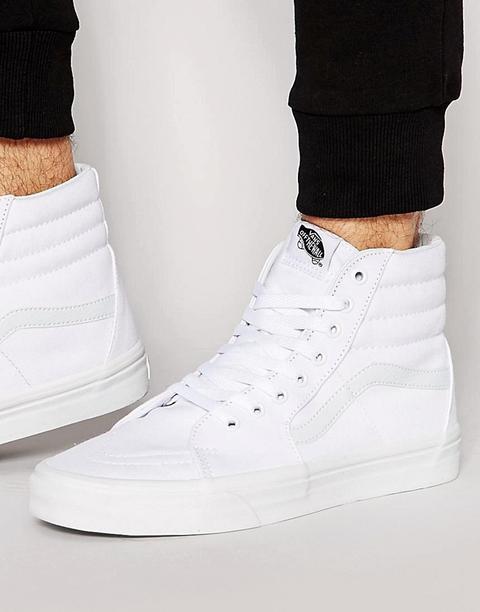 Vans - Sk8-hi - Sneakers Bianche Vd5iw00 - Bianco de ASOS en 21 Buttons