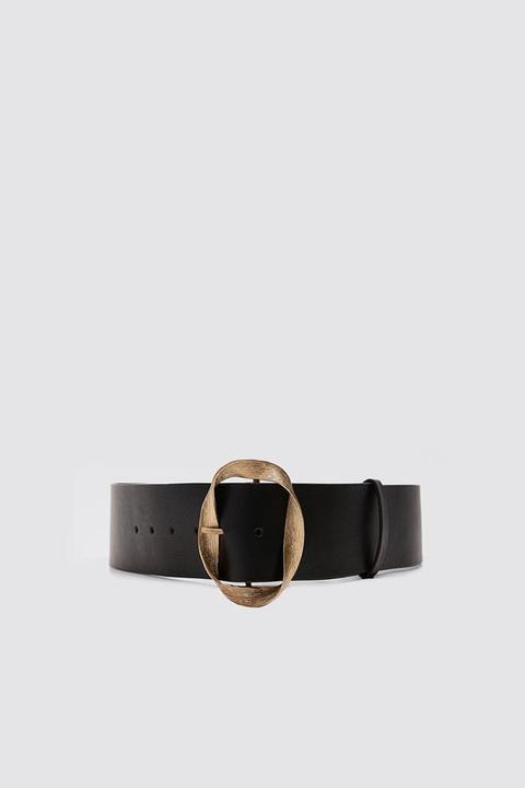 Cinturón Hebilla Textura