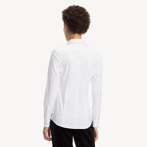 geeignet für Männer/Frauen Preis geringster Preis Slim Fit Hemd Mit Kettendetail from Tommy Hilfiger on 21 Buttons