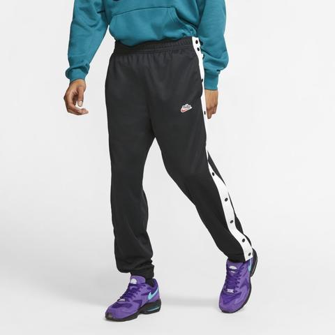 Universidad virar combustible  Nike Sportswear Pantalón De Botones A Presión - Hombre - Negro from Nike on  21 Buttons