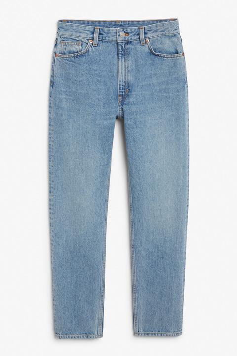 Kimomo Mid Blue Jeans - Blue