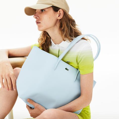 Bolso Tote De Mujer L.12.12 Concept Con Cremallera de Lacoste en 21 Buttons