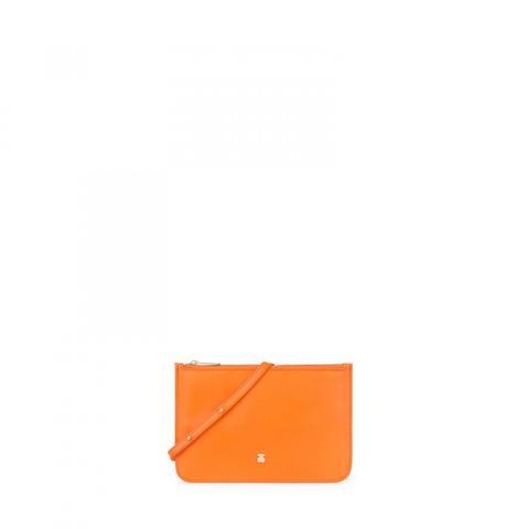 Bandolera Mini Enara De Piel En Color Naranja de Tous en 21 Buttons
