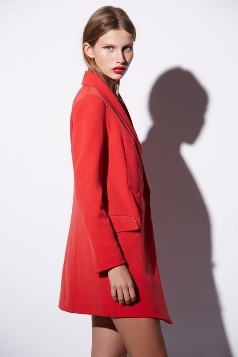 Vestido Casual. Modelo Oca Rojo de Etxart & Panno en 21 Buttons