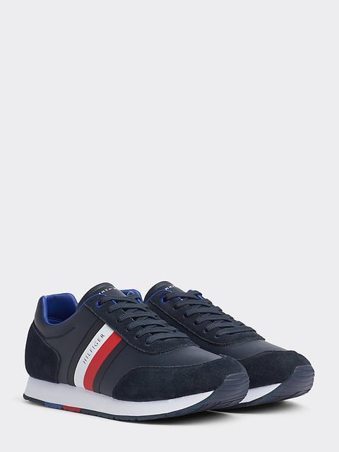 Zapatillas Deportivas De Piel Con Diseño Color Block de Tommy Hilfiger en 21 Buttons