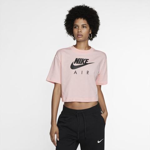 Nike Air Camiseta De Manga Corta - Mujer - Rosa from Nike on 21 Buttons