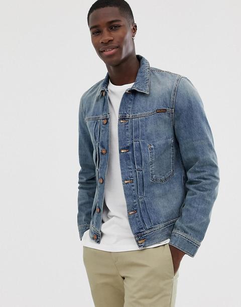 0d71d2f26c Nudie Jeans Co - Sunny - Veste En Jean - Stone Moyen - Bleu from ASOS
