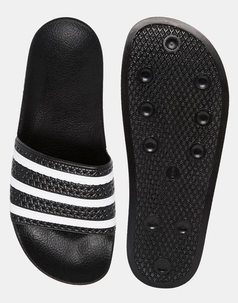 Llave amplitud cazar  Sandalias Adilette 280647 De Adidas Originals-negro from ASOS on 21 Buttons