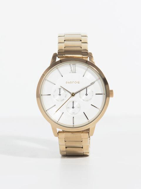 Reloj Gold Tray