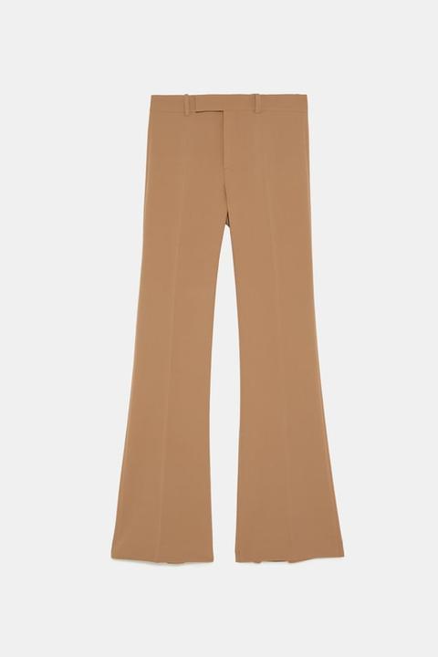 scarpe sportive 8b3df c76e0 Pantaloni Flare from Zara on 21 Buttons