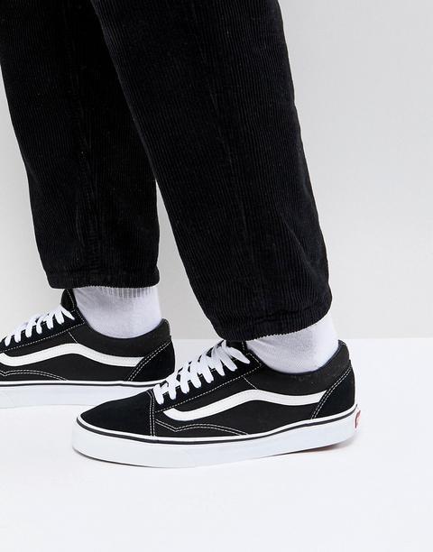Vans - Old Skool - Sneakers Nere Vd3hy28 - Nero de ASOS en 21 Buttons