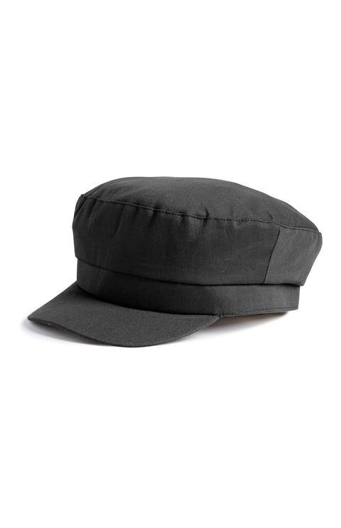 Gorra De Estilo Maquinista Color Negro