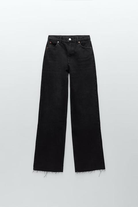 Jeans Hi Rise Wide Leg Full Length